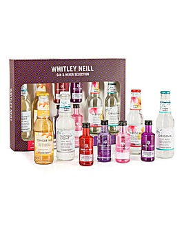 Whitley Neill Gin & Mixer Selection