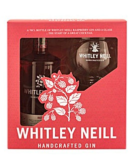 Whitley Neill Raspberry Gift Set 70cl
