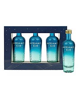 Isle of Wight Mermaid Gin Miniature Set