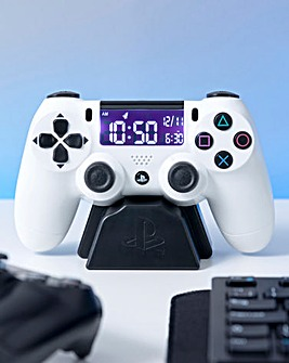 Playstation 5 White Alarm Clock