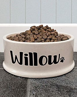 Personalised Pet Bowl Large