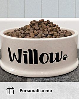 Personalised Pet Bowl Large