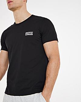 Polo Ralph Lauren Tape Lounge T-Shirt - Black
