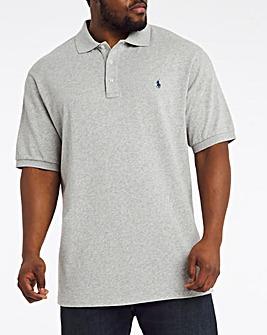 Polo Ralph Lauren Short Sleeve Terry Polo - Grey Heather