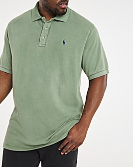 Polo Ralph Lauren Terry Spa Short Sleeve Polo - Green