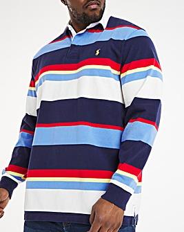 Polo Ralph Lauren Long Sleeve Stripe Rugby Polo