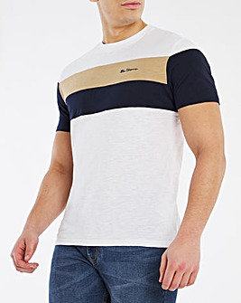 Ben Sherman Heritage Sports Block T-Shirt