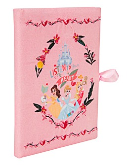Disney Princess Embroidered Notebook