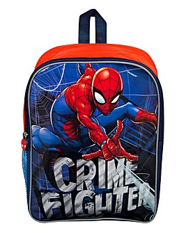 Spiderman Backpack with Mesh Pocket