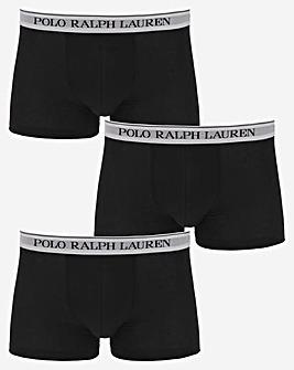 Polo Ralph Lauren Black Classic 3 Pack Trunk
