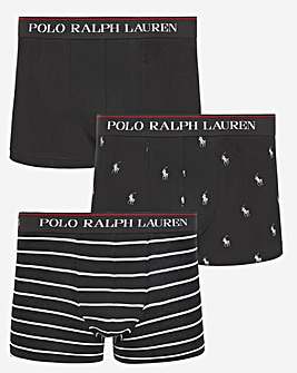 Polo Ralph Lauren Classic 3 Pack Printed Trunk