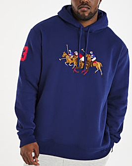 Polo Ralph Lauren Big Pony Over The Head Hoodie