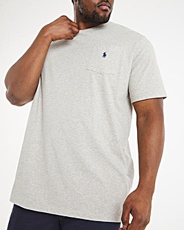 Polo Ralph Lauren Classic Short Sleeve T-Shirt - Grey