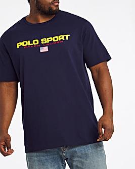Polo Ralph Lauren Short Sleeve Polo Sport T-Shirt - Navy
