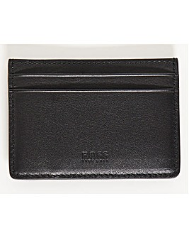 BOSS Black Leather Money Clip