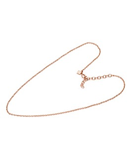 Mya Bay Rose-tone 38cm Fine Chain
