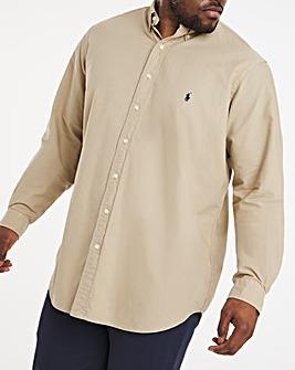 Polo Ralph Lauren Long Sleeve Garment Dye Shirt