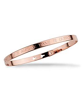 Mya Bay I love You Te Amo Bracelet