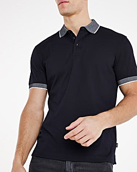 BOSS Classic Short Sleeve Contrast Polo