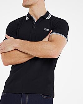 BOSS Short Sleeve Paddy Polo - Black