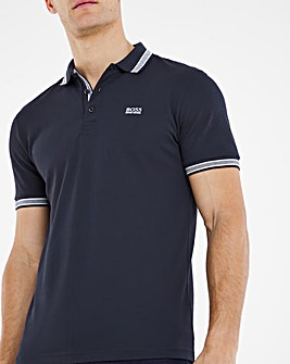 BOSS Short Sleeve Classic Paddy Polo - Navy