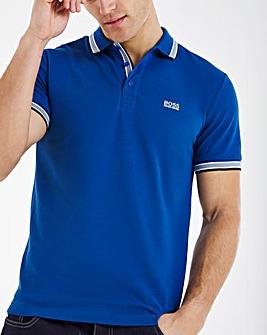 BOSS Short Sleeve Classic Paddy Polo - Blue