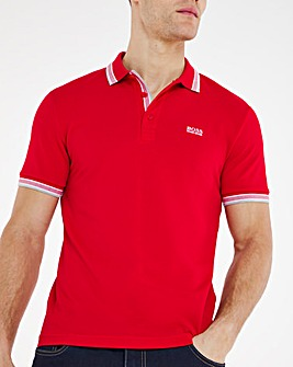 BOSS Short Sleeve Classic Paddy Polo - Red