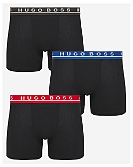 BOSS 3 Pack Contrast Boxer Brief