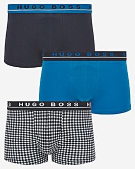 BOSS 3 Pack Printed Trunk