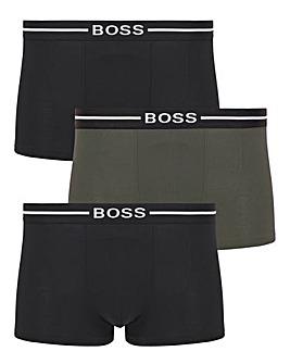BOSS 3 Pack Organic Cotton Trunk