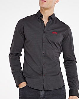 BOSS Classic Long Sleeve Shirt - Black