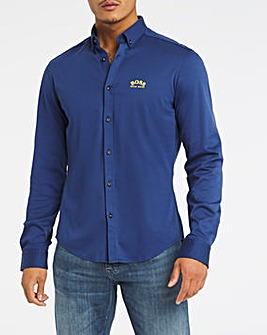 BOSS Navy Classic Long Sleeve Shirt