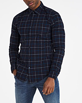BOSS Long Sleeve Check Shirt