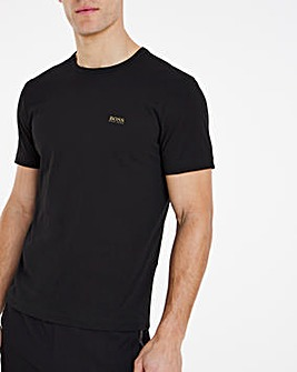 BOSS Classic Short Sleeve Small Logo T-Shirt - Black
