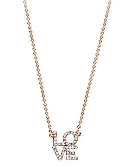 Mya Bay Love Block Necklace