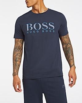 BOSS Navy Short Sleeve Small Logo T-Shirt
