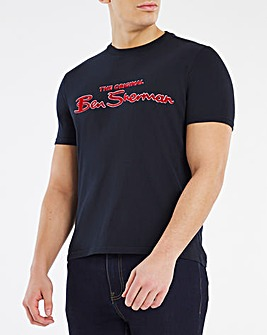 Ben Sherman Signature Logo T-Shirt Long