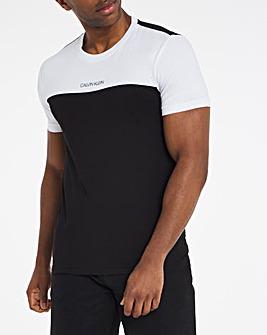 Calvin Klein Short Sleeve Colourblock T-Shirt