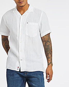 Tommy Hilfiger Short Sleeve Pigment Dyed Shirt