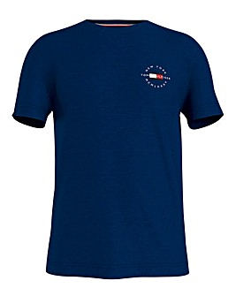 Tommy Hilfiger Short Sleeve Circle Chest Logo T-Shirt