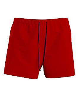 Tommy Hilfiger Red Classic Swimshort