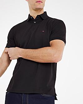Tommy Hilfiger 1985 Short Sleeve Polo - Black