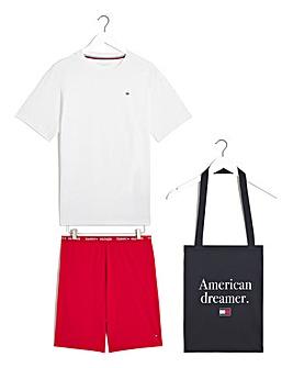 Tommy Hilfiger Pyjama In A Bag Gift Set