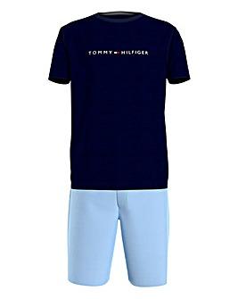 Tommy Blue Hilfiger T-Shirt&Short Pyjama Set