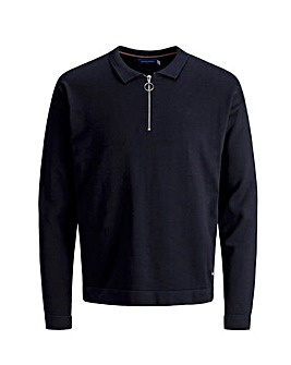 Jack & Jones Renno Knit 1/4 Zip Jumper