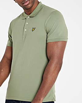 Lyle & Scott Classic Short Sleeve Polo - Moss