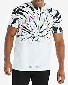 Religion White Short Sleeve Cyclone T-Shirt Long