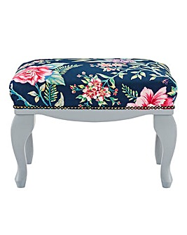 Joe Browns Floral Foot Stool