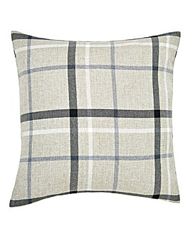Hudson Check Square Cushion
