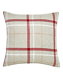 Hudson Check Square Cushion